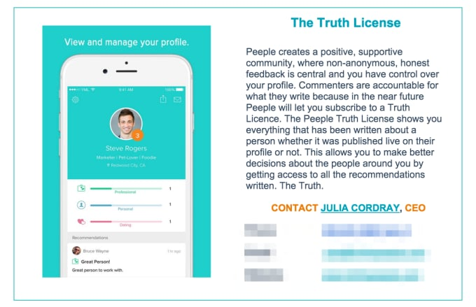 peeple-truth-license