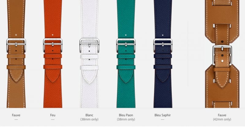 Cinturini Hermes apple watch