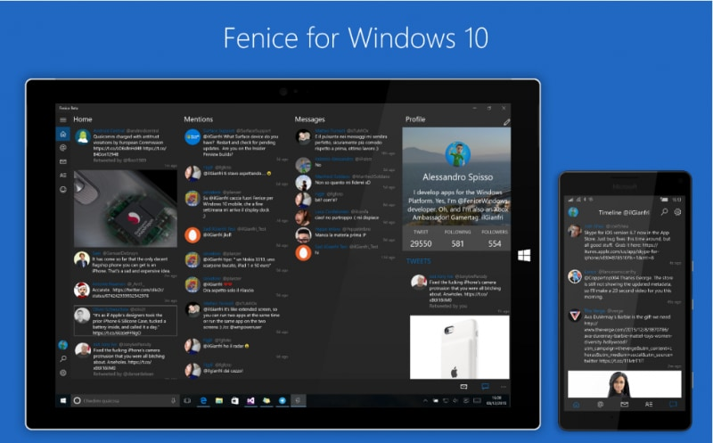 Fenice-Windows-10
