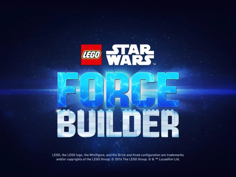 LEGO Star Wars Force Builder Copertina