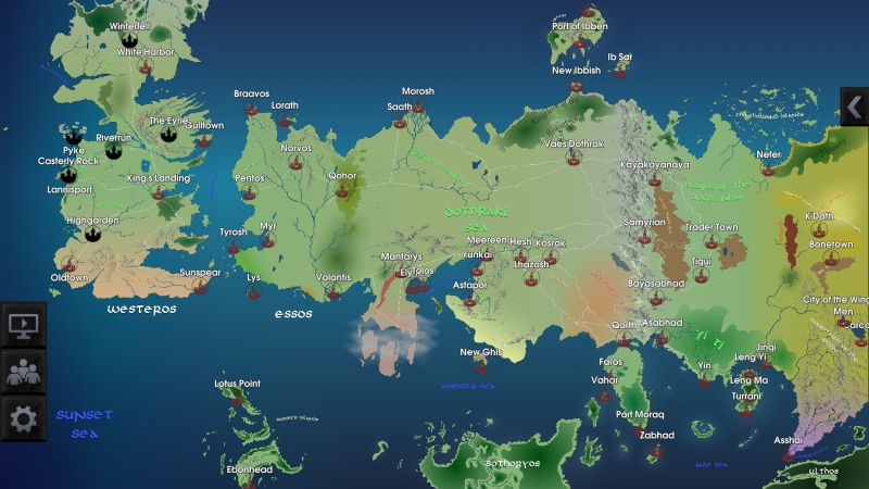 Map for Game of Thrones (1)