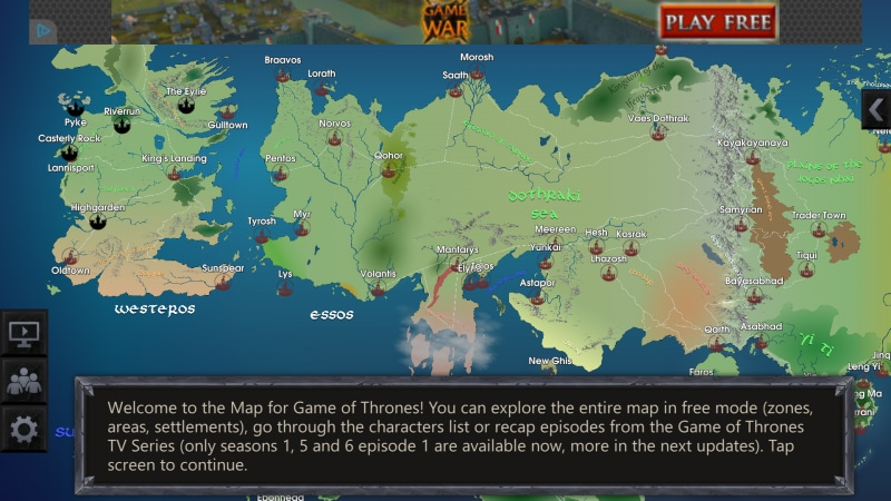 Map for Game of Thrones (2)