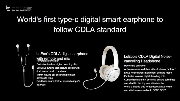 cuffie LeEco audio lossless