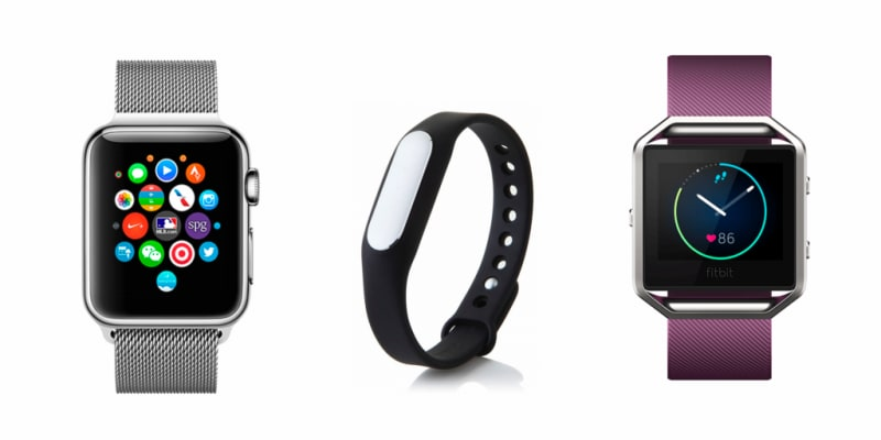Apple Watch Xiaomi Fitbit