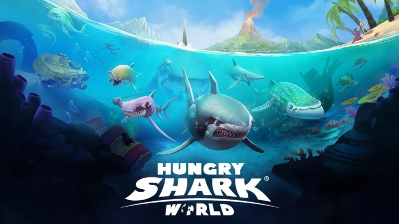Hungry Shark World Copertina