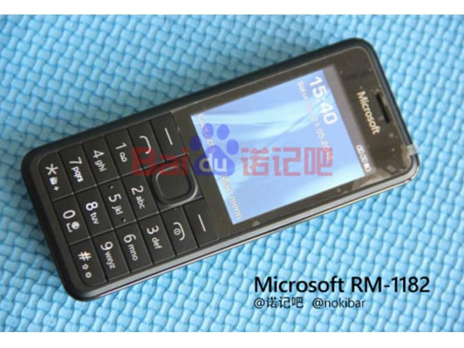 Prototype-of-Microsoft-feature-phone-model-RM-1182