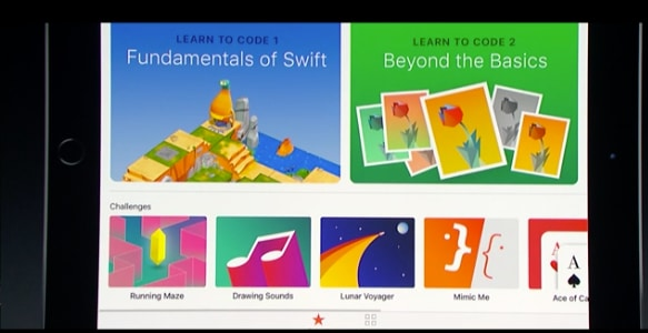 Apple iPad Swift Playgrounds