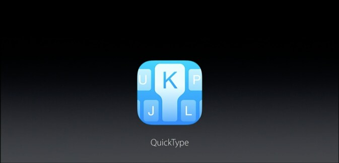 QuickType iOS 10