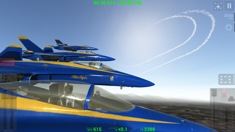 Blue Angels - Aerobatic SIM - 4