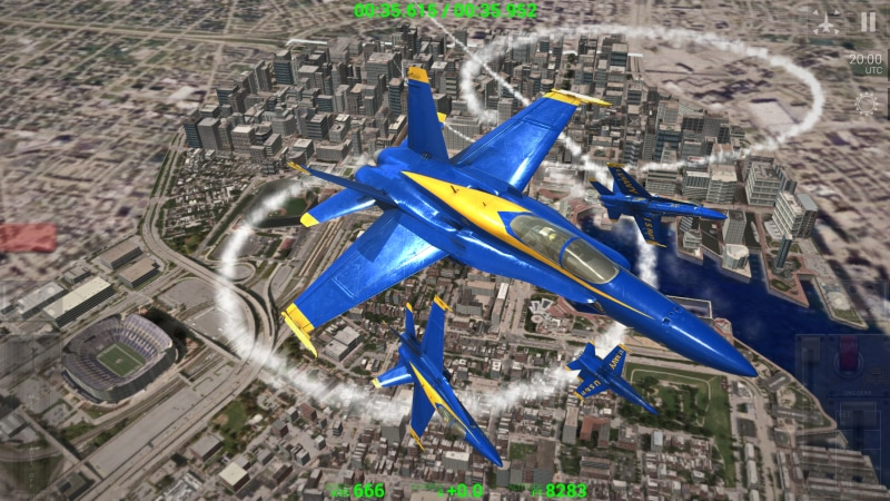 Blue Angels - Aerobatic SIM - 5