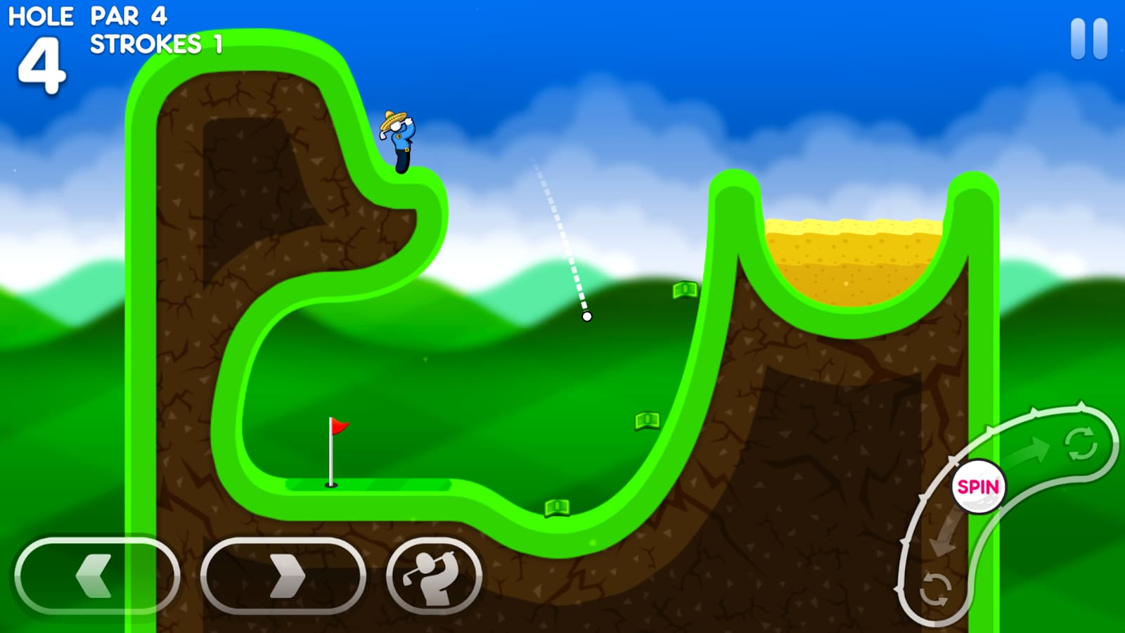 Super Stickman Golf 3 – 1