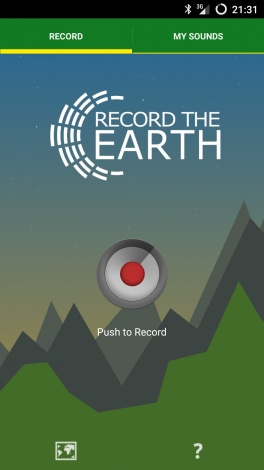 Record the Earth (2)
