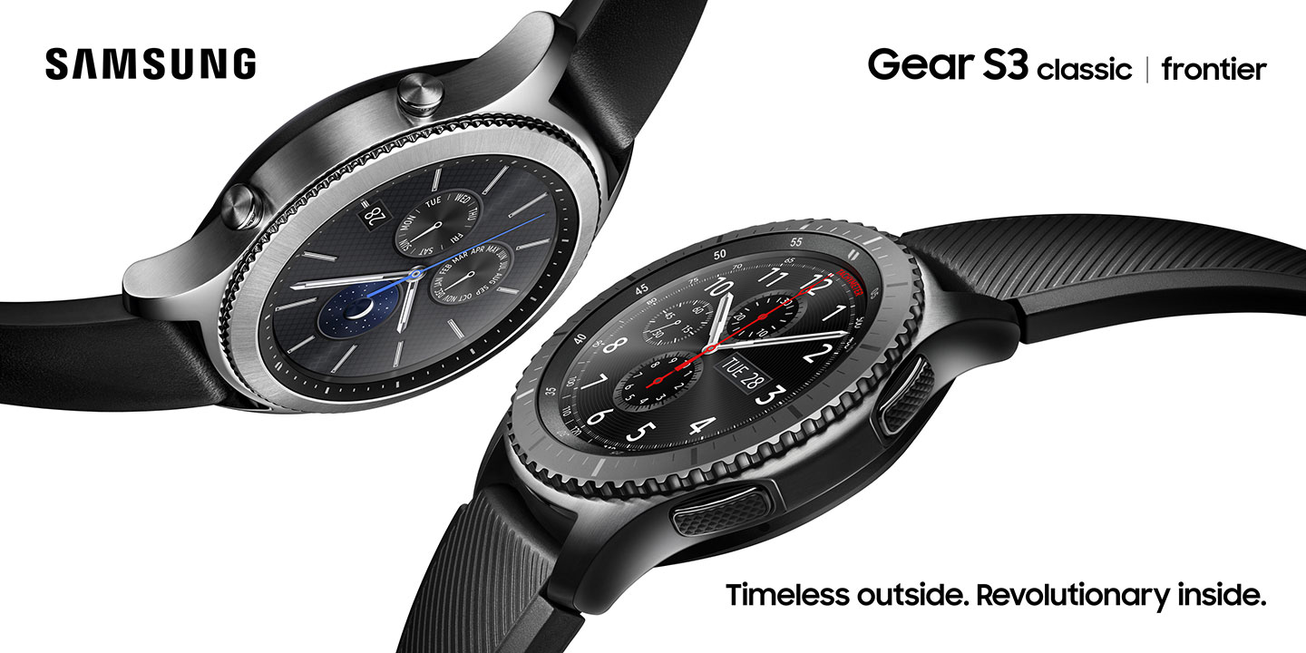 Samsung presenta Gear S3: due versioni, GPS, LTE e display always-on (foto e video)