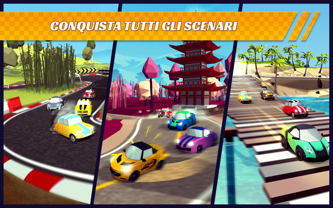 Pocket Rush è un nuovo gioco di corse gratuito tutto italiano (foto e video)