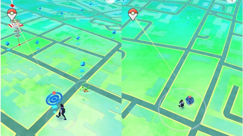 Pokémon GO Plus Interfaccia