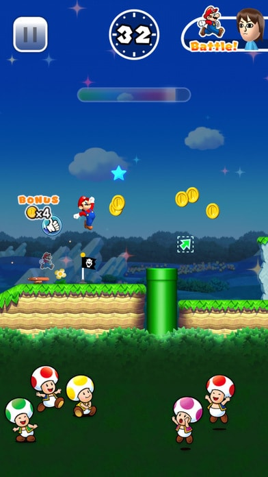 Super Mario Run Screenshot - 3
