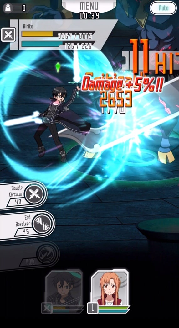 SWORD ART ONLINE Memory Defrag Screenshot - 1