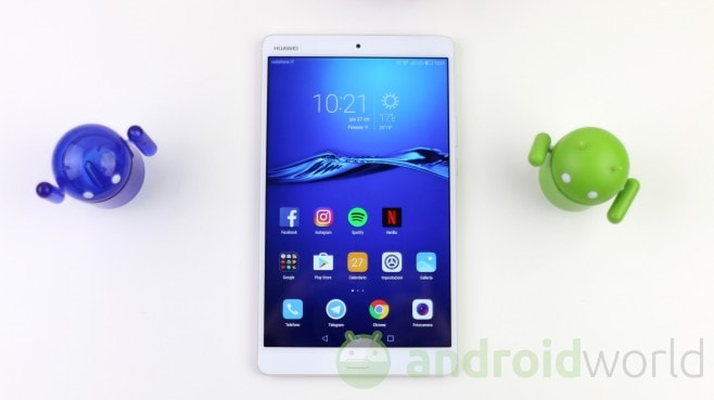Tablet in calo, ma Huawei cresce anche qui