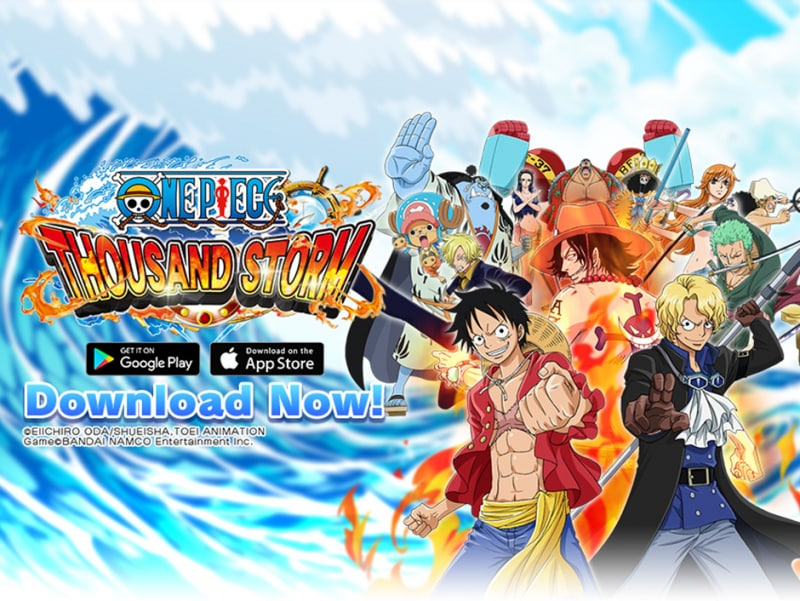 Il 3D Action RPG ONE PIECE THOUSAND STORM sbarca su Android e iOS
