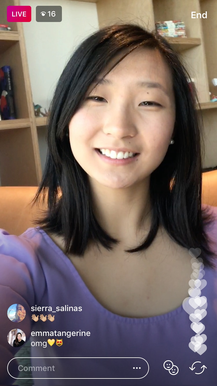 Instagram Live With – 1