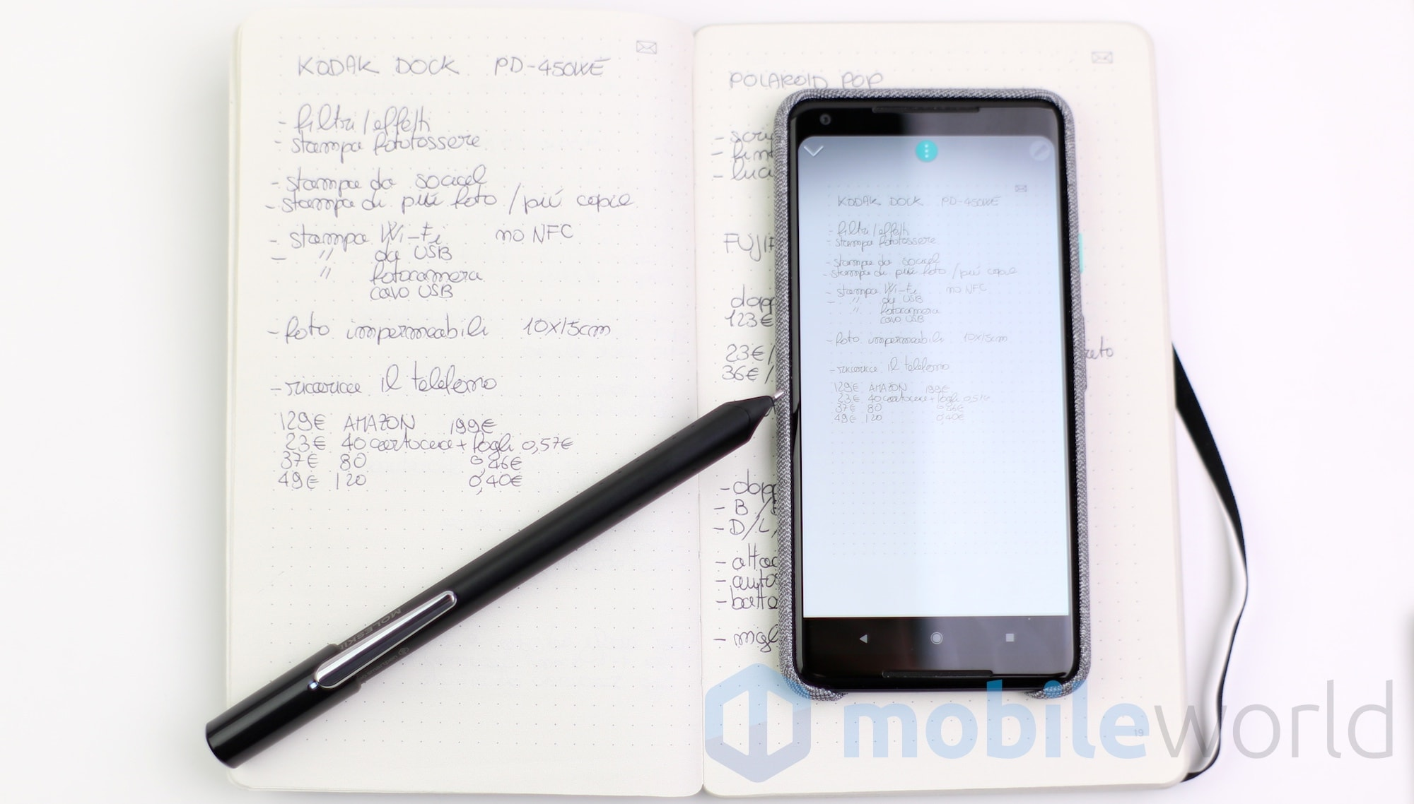 Moleskine Smart Writing Set – 8