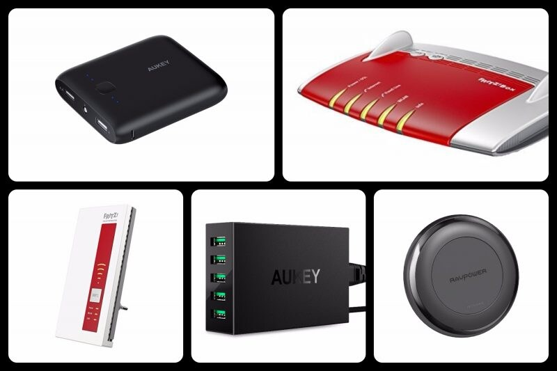 Amazon Black Friday 2017: powerbank, caricabatterie wireless e router