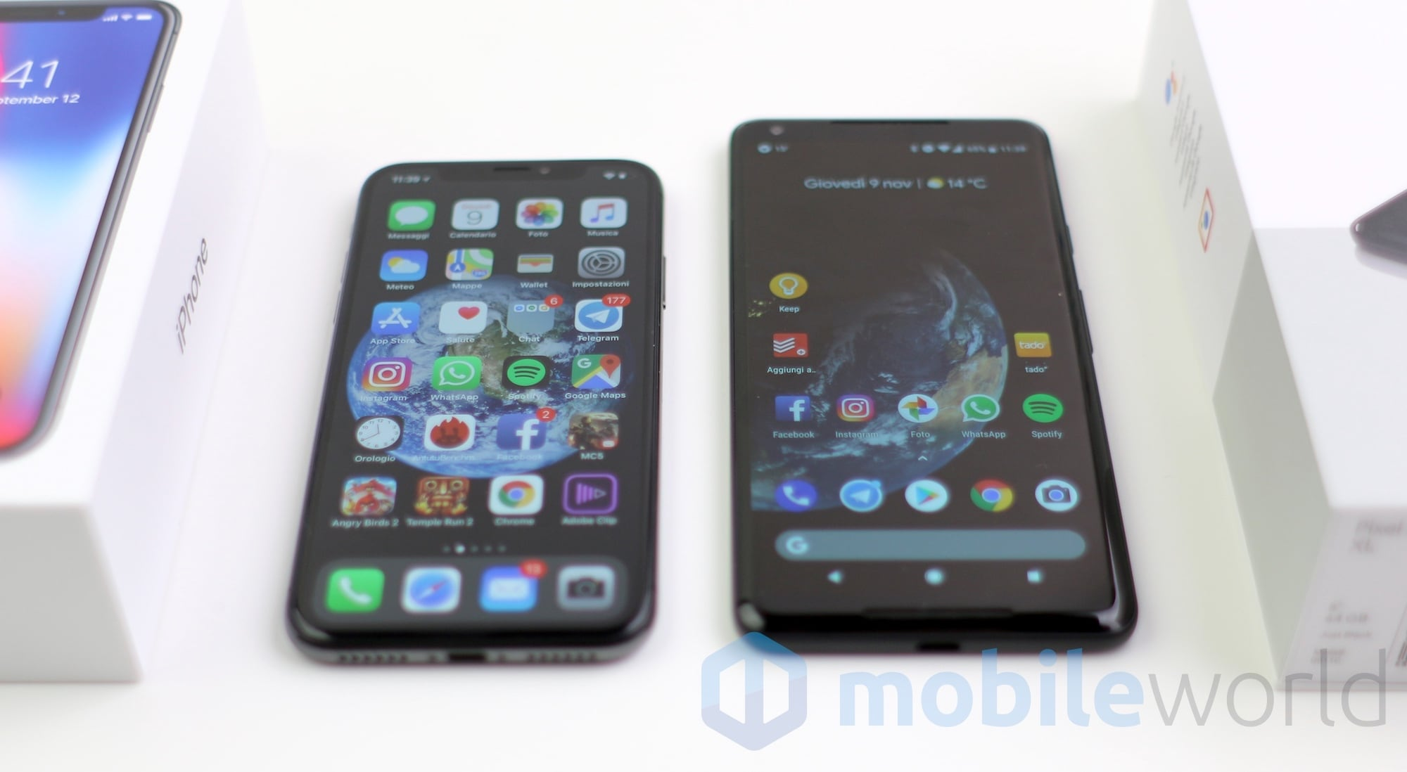 iPhone X – Google Pixel 2 XL – 2
