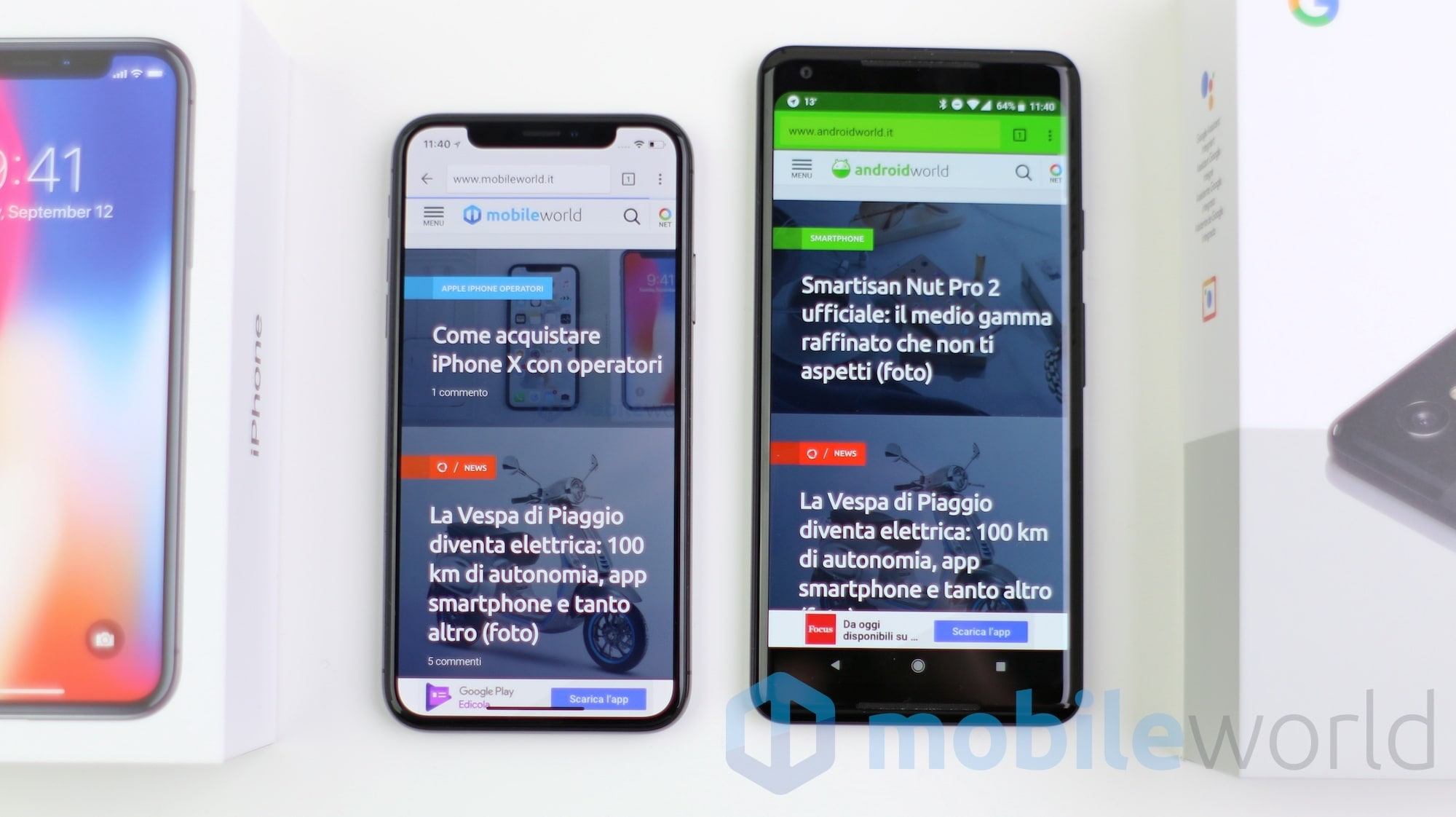 Pixel Xl  Or Iphone X