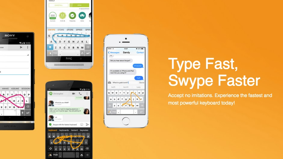 Addio a Swype Keyboard: interrotto il supporto all'app per ...