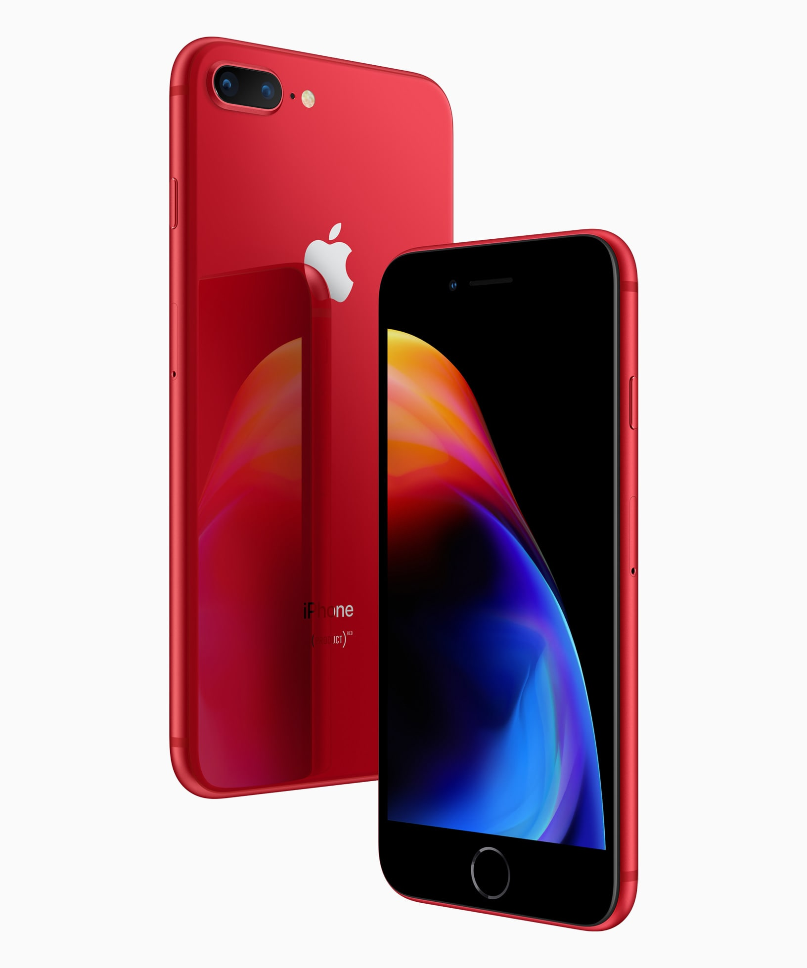 iPhone 8 plus product red front