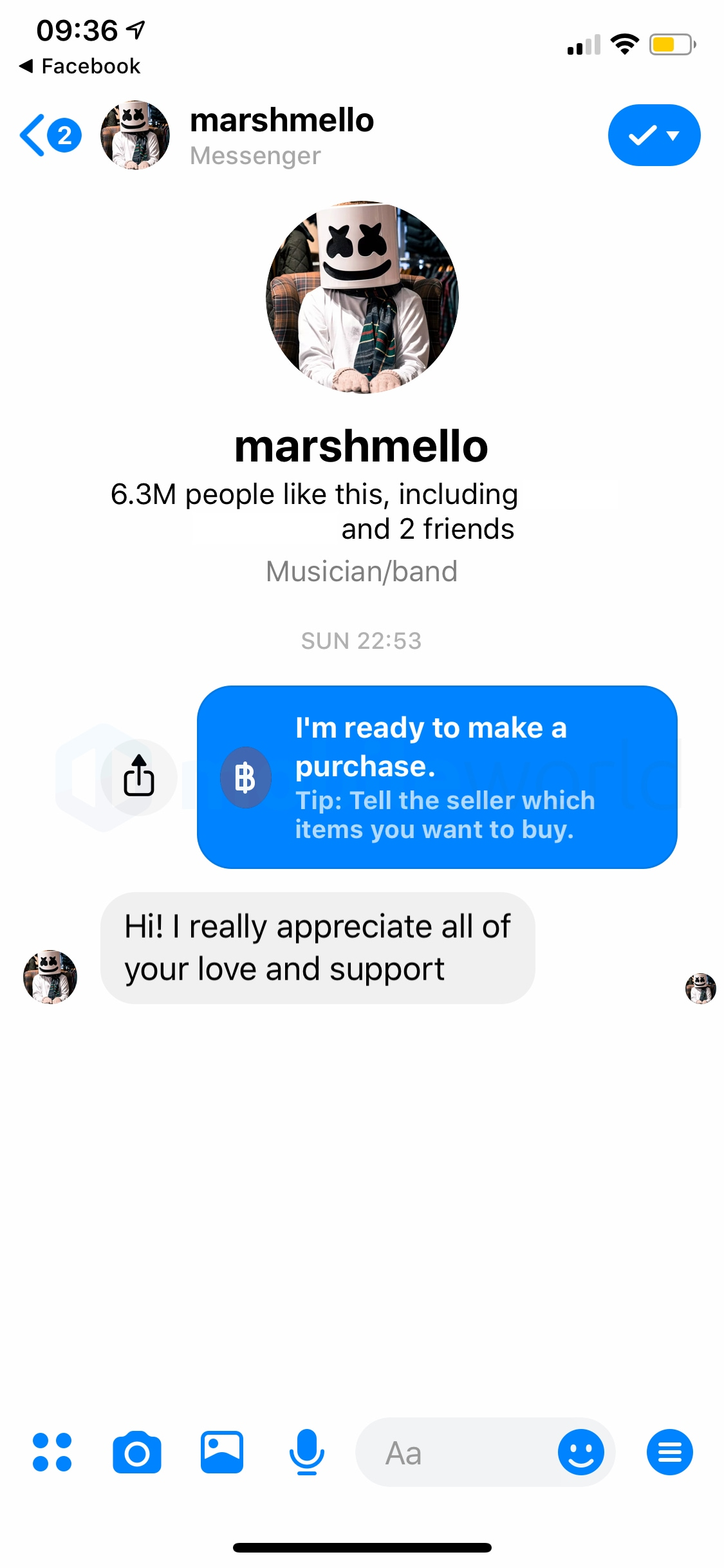 Pay with facebook 3