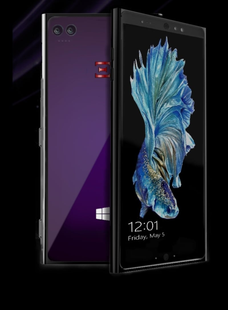 This smartphone has Windows 10 and runs on ARM. Windows Phone is coming back